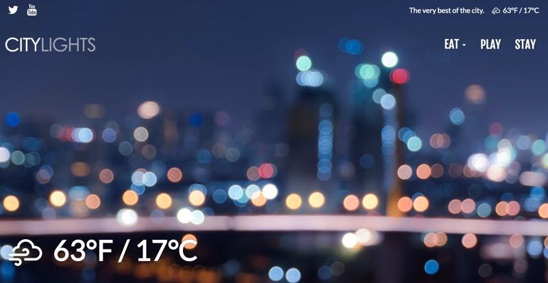 Inline Weather Sample